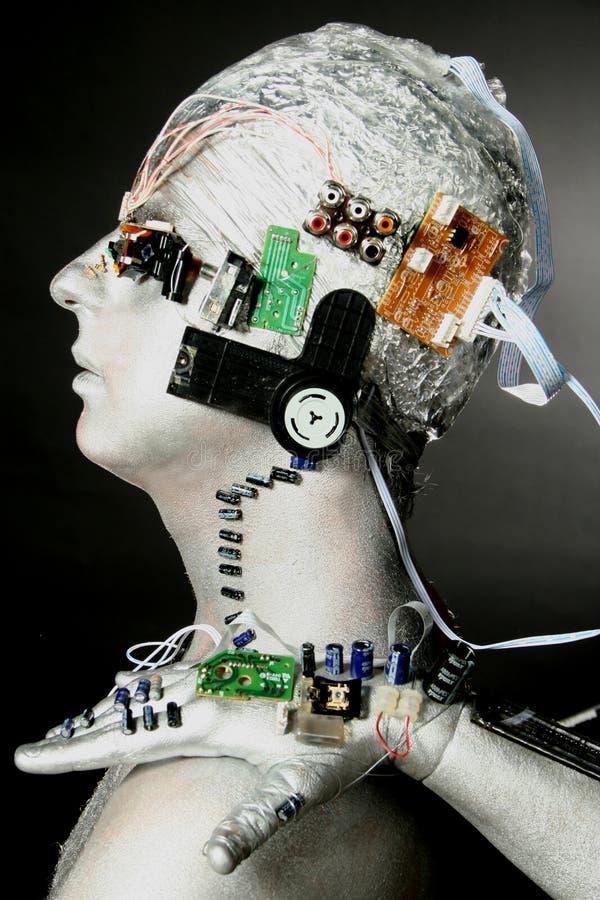 Ein Roboter stockfoto