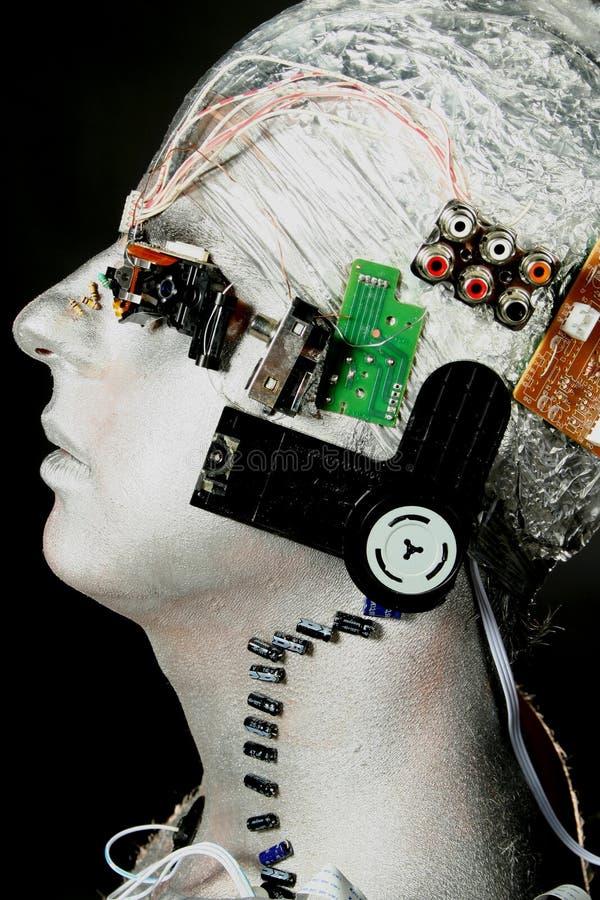 Ein Roboter stockbild