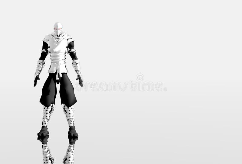 Ein Roboterdarstellen lizenzfreie abbildung