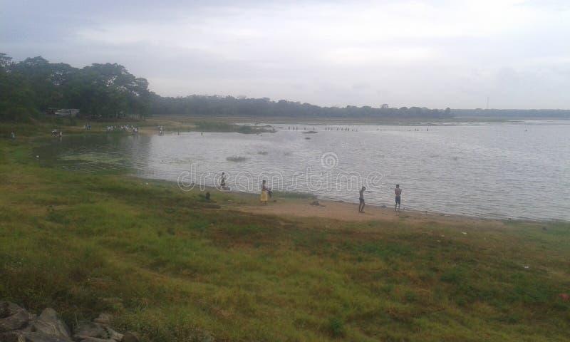 Ein schöner Behälter in Anuradhapura-Stadt lizenzfreies stockbild