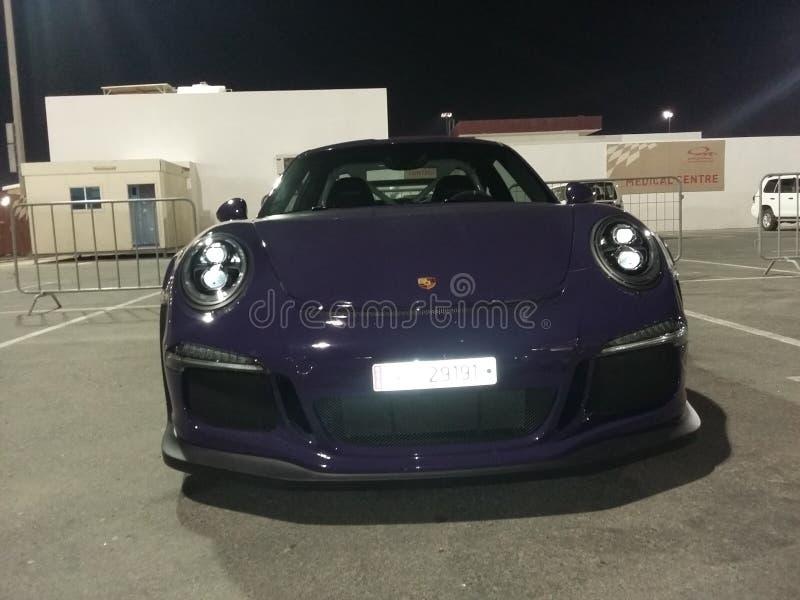 Ein schöner porche 911 Sportmodus lizenzfreie stockbilder
