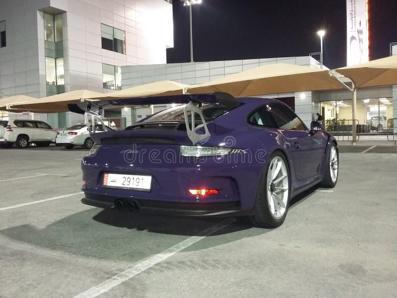 Ein schöner porche 911 Sportmodus lizenzfreie stockfotografie
