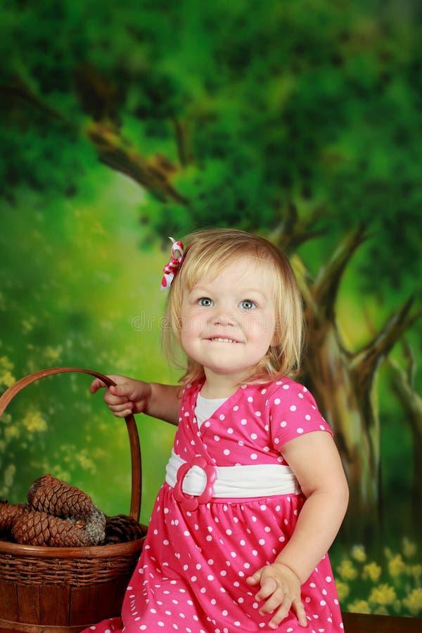 Ein schönes Mädchen lizenzfreies stockfoto