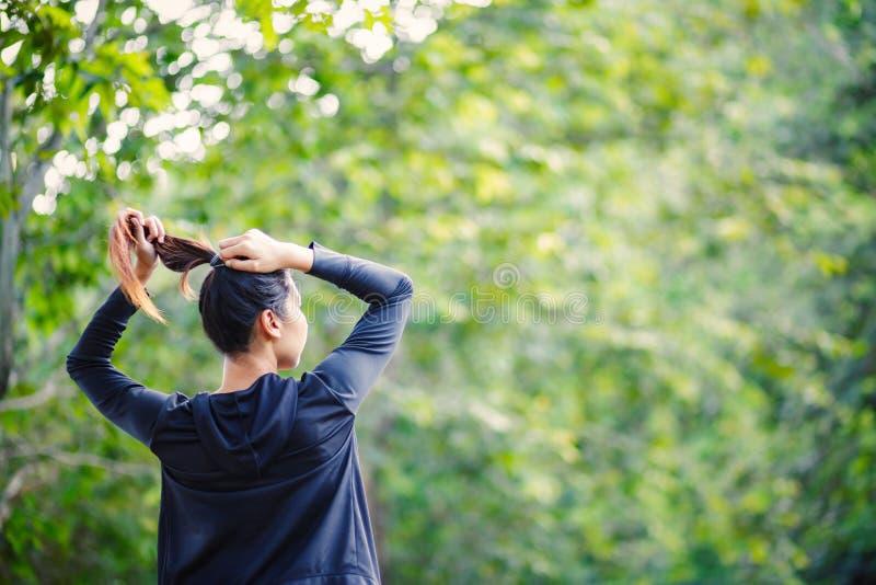 Ein Schönheitsbündel Haar ner großen Baums lizenzfreie stockfotografie