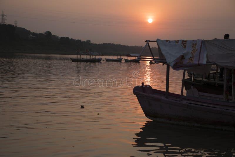 Ein sch?ner Sonnenuntergang lizenzfreie stockfotografie
