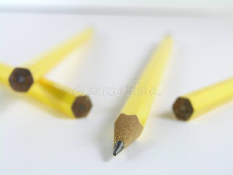 Ein Scharfer Bleistift Lizenzfreies Stockfoto