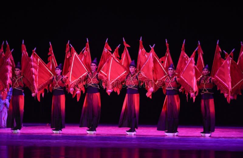"""Ein Schauspieler, der eine Kriegsrolle in den chinesischen Opern spielt - tanzen Sie drama""""Mei Lanfangâ€- lizenzfreies stockfoto"""