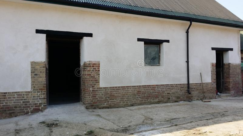 Ein Scheunenwirtschaftsgebäude lizenzfreies stockfoto