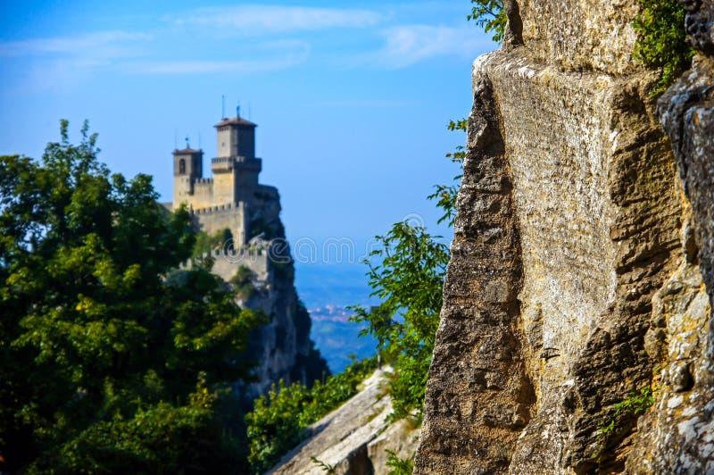 Ein Schloss lizenzfreies stockbild