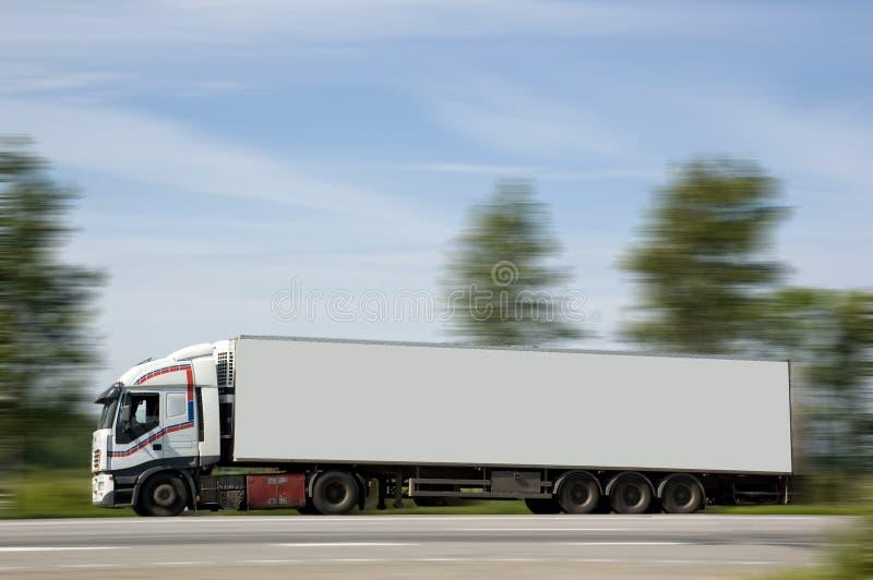 Ein schwerer LKW lizenzfreies stockbild