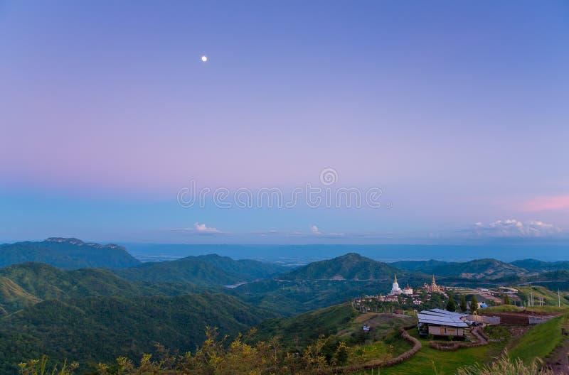 Ein sehr schöner Himmel in Thailand stockfotos