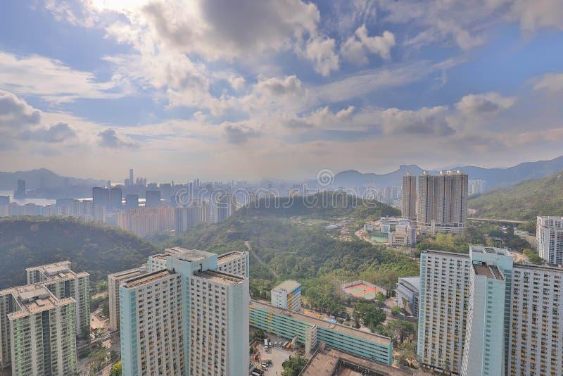 ein Shun Lee-Bezirk an kwun Zange stockfotografie