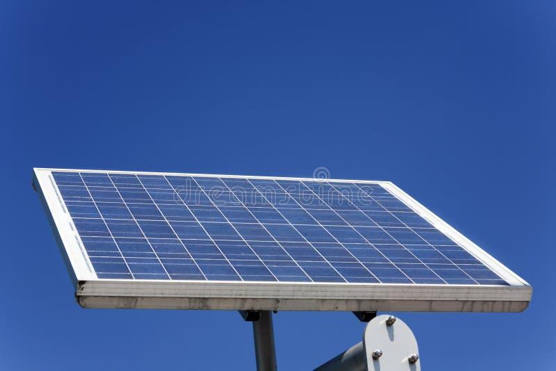 Ein Sonnenkollektor lizenzfreies stockbild