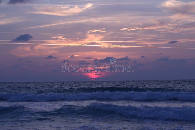 Ein Sonnenuntergang lizenzfreie stockfotografie