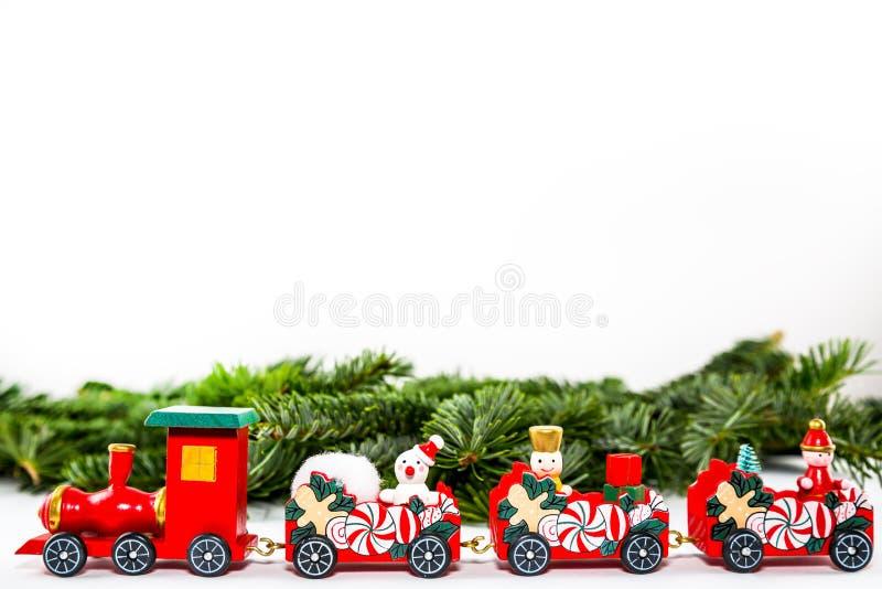 Ein Spielzeugzug lizenzfreie stockbilder
