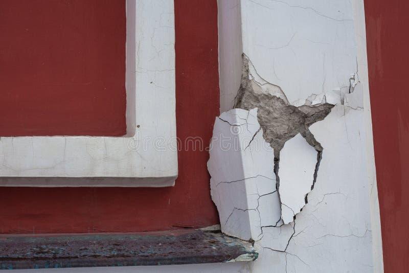 Ein Stück der Wand stockfotografie