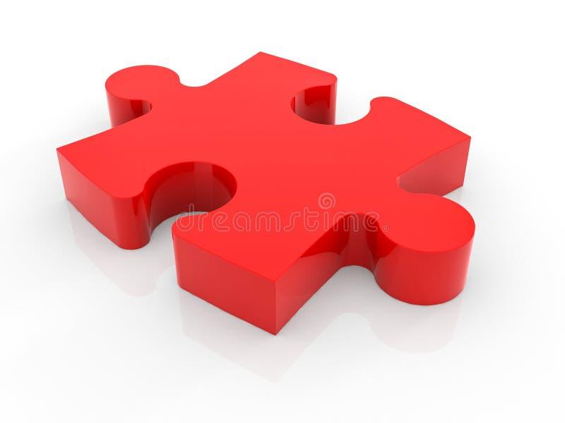 Ein Stück des Puzzlen vektor abbildung
