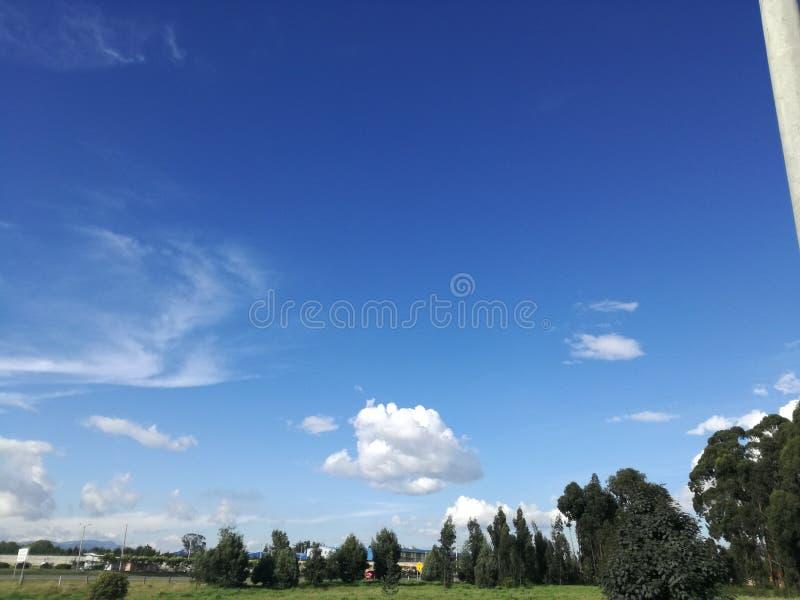 Ein Stück Wolken stockbild