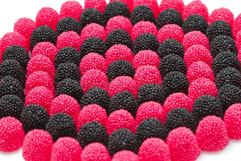 Ein Stapel der Süßigkeiten lizenzfreie stockfotografie
