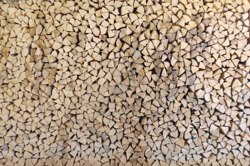 Ein Stapel Holz lizenzfreie stockfotos
