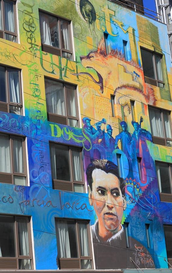 Ein Straßen-Wandbild, New York lizenzfreie stockfotos