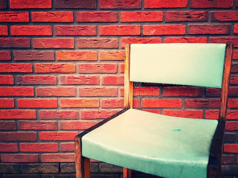 Ein Stuhl lizenzfreie stockbilder
