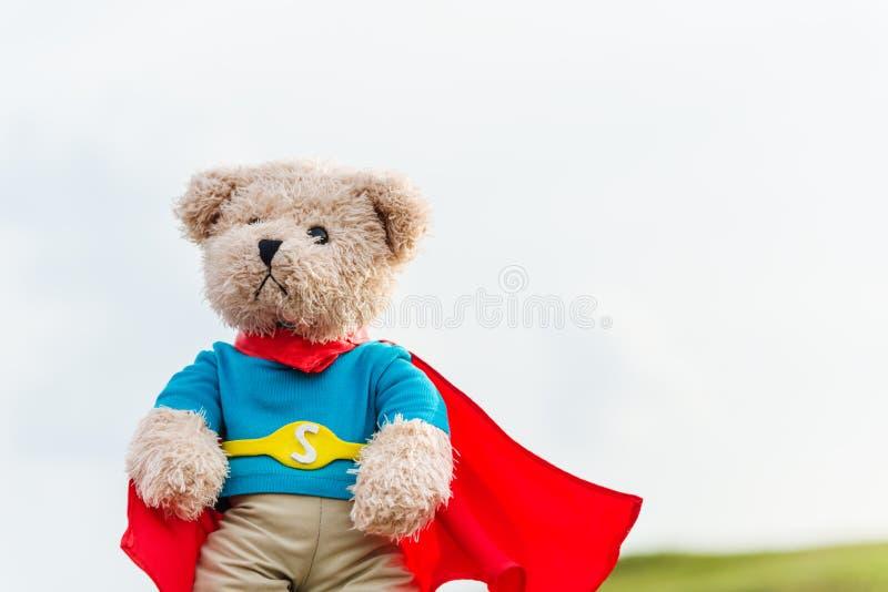 Ein Superheldspielzeug stockfotos