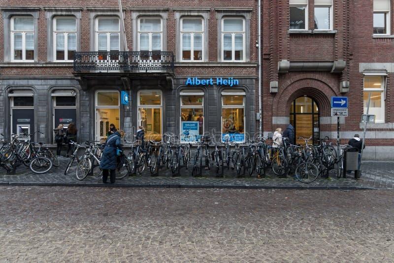 Ein Supermarkt Albert Heijn lizenzfreie stockbilder