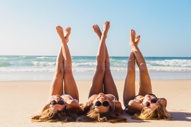Ein Tag auf dem Strand lizenzfreies stockbild