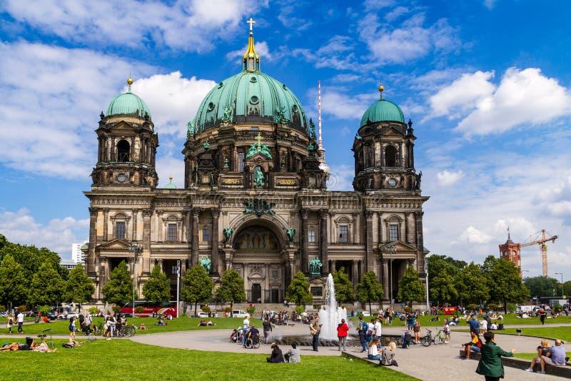 Ein Tag in Berlin, Deutschland lizenzfreie stockfotografie