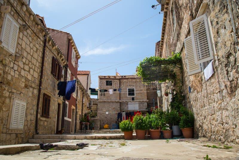 Ein Tag in Dubrovnik stockfotografie