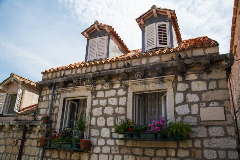 Ein Tag in Dubrovnik lizenzfreie stockfotos