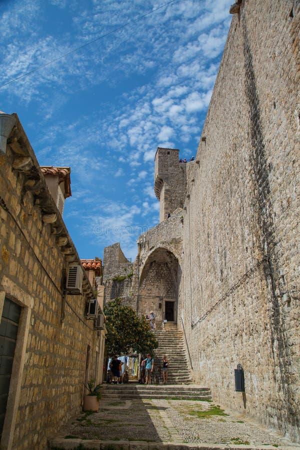 Ein Tag in Dubrovnik lizenzfreie stockfotografie