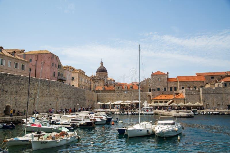 Ein Tag in Dubrovnik lizenzfreies stockbild
