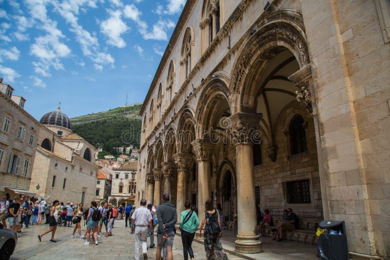 Ein Tag in Dubrovnik lizenzfreie stockbilder
