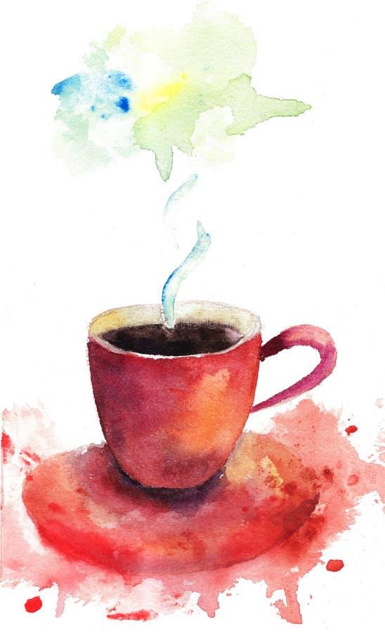 Ein Tasse Kaffee vektor abbildung