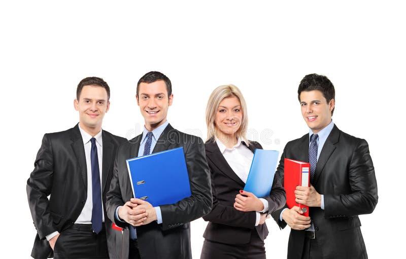 Ein Team der Wirtschaftler lizenzfreies stockfoto
