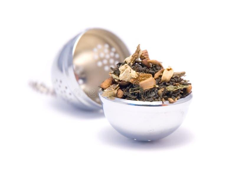 Ein Teeei lizenzfreie stockbilder