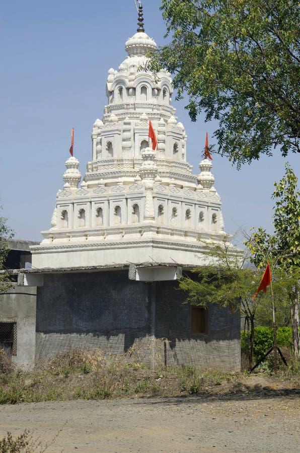 Ein Tempel, Akola, Maharashtrastaat von Indien stockfotos