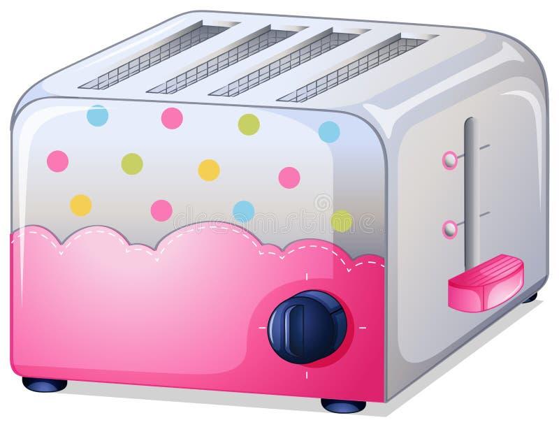Ein Toaster stock abbildung