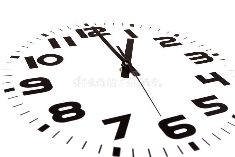Ein Uhr lizenzfreies stockfoto