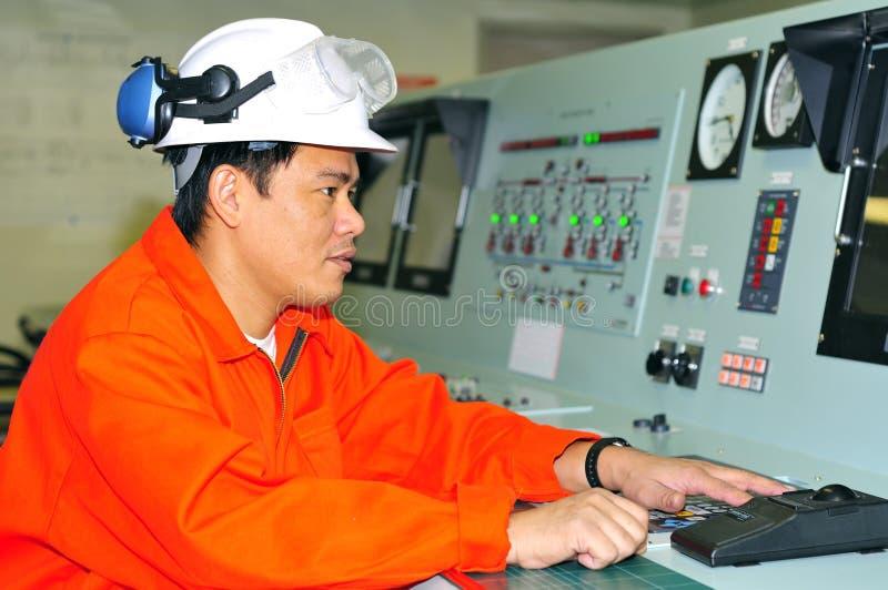Ein Verschiffeningenieur lizenzfreies stockfoto
