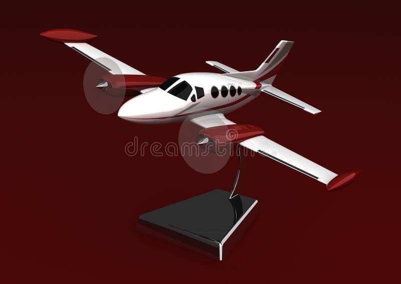 Ein vorbildliches Flugzeug auf einem Standplatz