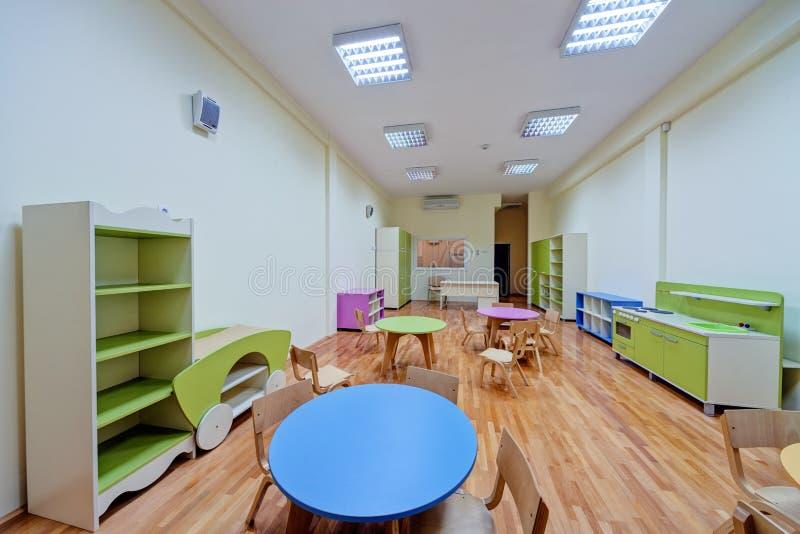 Ein Vorschule- Innenraum lizenzfreies stockfoto