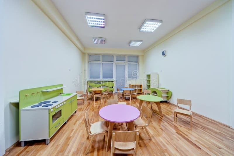 Ein Vorschule- Innenraum stockbild