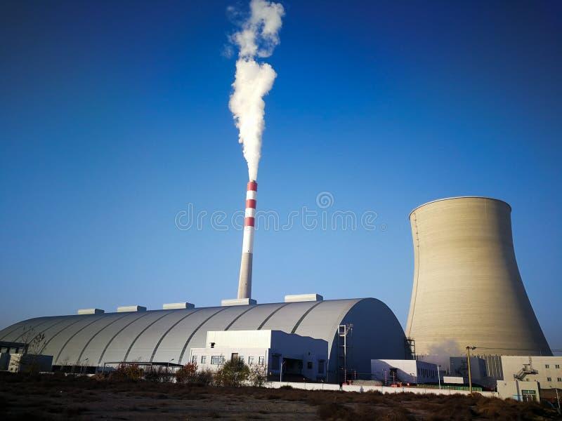 Ein Wärmekraftwerk in China lizenzfreie stockfotografie