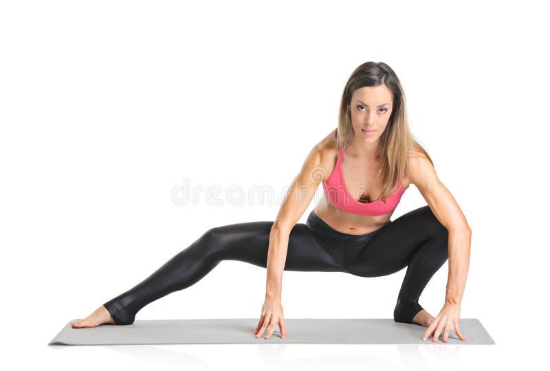 Ein weiblicher Athlet lizenzfreies stockfoto