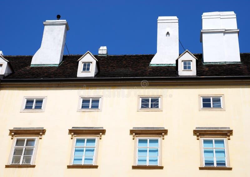 Ein Wohngebäude in Wien, Österreich lizenzfreie stockfotos