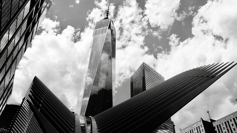Ein World Trade Center, Manhattan, neu stockfotos