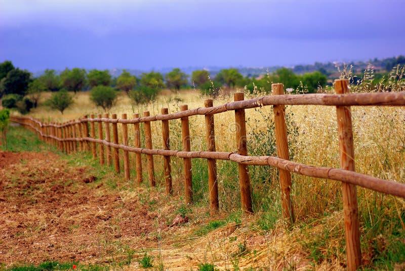 Ein Zaun stockfotos